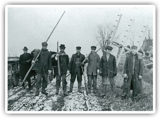 Early 1900's Telephone Linemen