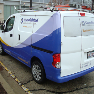 Consolidated Communications Tech Van