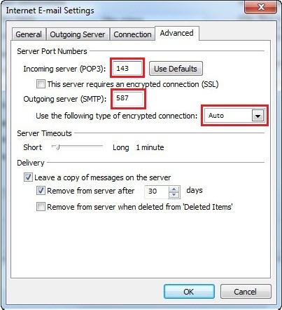 Outlook 2007 IMAP Setup Instructions